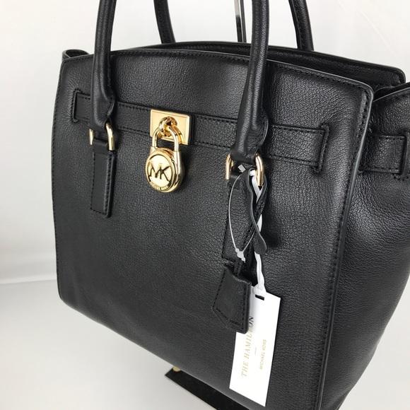 Michael Kors Hamilton Leather Satchel 30S7GHMS7L
